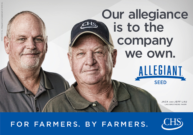 Allegiant Seed. For Farmers. By Farmers. Click to Learn More.